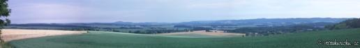 Panorama výhled na Blaník